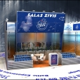 "Exhibition stand of ""Salas zivis"" company, exhibition ANUGA 2011 in Cologne"