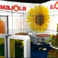 "Exhibition stand of ""Majola"" company, exhibition ANUGA 2011 in Cologne"