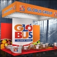 "Exhibition stand of ""Globus Group"" company, exhibition FRUIT LOGISTICA 2012 in Berlin"