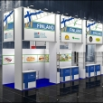 National stand of Finland, exhibition PRODEXPO-2012 in Moscow