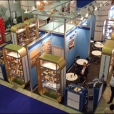 "Exhibition stand of ""Rigas sprotes"", exhibition WORLD FOOD MOSCOW 2009 in Moscow"