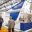 National stand of Finland, exhibition WORLD FOOD MOSCOW-2012 in Moscow