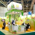 "Exhibition stand of ""N&R Fruit Company"" company, exhibition WORLD FOOD MOSCOW-2012 in Moscow"