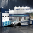 "Exhibition stand of ""Promelectronica"" company, exhibition INNOTRANS 2012 in Berlin"