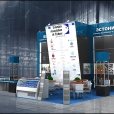 "Exhibition stand of ""Estonian Association of Fishery"", exhibition WORLD FOOD KAZAKHSTAN 2012 in Almati"