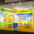 "Exhibition stand of ""Ukrainian Fruit Company"", exhibition FRUIT LOGISTICA 2013 in Berlin"
