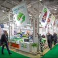 National stand of Latvia, exhibition PRODEXPO 2013 in Moscow