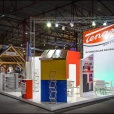 "Exhibition stand of ""Tenax"" company, exhibition MAJA I 2013 in Riga"