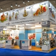 "Exhibition stand of ""The Union of Fish Processing Industry"", exhibition EUROPEAN SEAFOOD EXPOSITION 2013 in Brussels"