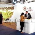 "Exhibition stand of ""Borshchahivskiy Chemical-Pharmaceutical Plant"", exhibition CPhI SOUTH AMERICA 2013 in Sao Paulo, Brazil"