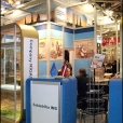 "Exhibition stand of ""Rigas sprotes"" company, exhibition PRODEXPO 2010 in Moscow"