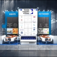 "Exhibition stand of ""Estonian Association of Fishery"", exhibition WORLD FOOD MOSCOW-2013 in Moscow"