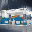 "Exhibition stand of ""The Union of Fish Processing Industry"", exhibition ANUGA 2013 in Cologne"