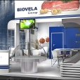 "Exhibition stand of ""Biovela"" company, exhibition ANUGA 2013 in Cologne"