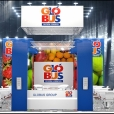 "Exhibition stand of ""Globus Group"" company, exhibition FRUIT LOGISTICA 2014 in Berlin"