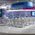 Exhibition stand of Saint-Petersburg, exhibition MIPIM 2014 in Cannes