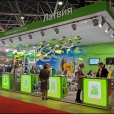 National stand of Latvia, exhibition MITT 2014 in Moscow