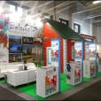 National stand of Belarus, exhibition ITB BERLIN-2014 in Berlin