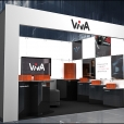 "Exhibition stand of ""VIVA Audio"" companies, exhibition HIGH END 2014 in Munich"