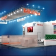 "Exhibition stand of ""Mitutoyo"" company, exhibition METALLOOBRABOTKA 2014 in Moscow"