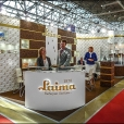 "Exhibition stand of ""Laima (NP Foods)"" company, exhibition WORLD FOOD MOSCOW 2014 in Moscow"