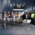 "Exhibition stand of ""Latvijas Balzams"" company, exhibition SIAL-2014 in Paris"