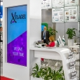 "Exhibition stand of ""Yuria-Pharm"", exhibition CPhI WORLDWIDE 2014 in Paris"