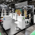 National stand of Latvia, exhibition EMBALLAGE 2014 in Paris