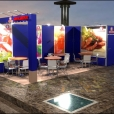 "Exhibition stand of ""Santa Bremor"", exhibition EUROPEAN SEAFOOD EXPOSITION 2010 in Brussels"