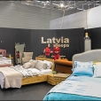 National stand of Latvia, exhibition IMM 2015 in Cologne