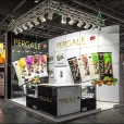 "Exhibition stand of ""Vilniaus Pergale"" company, exhibition IFE 2015 in London"