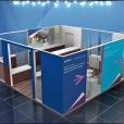 "Exhibition stand of ""Accenture"" company, exhibition eHEALTH WEEK 2015 in Riga"