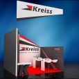 "Exhibition stand of ""Kreiss"" companies, exhibition TRANSPORT LOGISTIC 2015 in Munich"