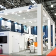 "Exhibition stand of ""DFDS"" company, exhibition TRANSRUSSIA 2015 in Moscow"