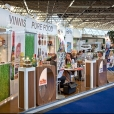 National stand of Latvia, exhibition WORLD OF PRIVATE LABEL 2010 in Amsterdam
