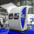 "Exhibition stand of ""Continental Jet Services"" company, exhibition EBACE 2015 in Geneva"