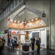 "Exhibition stand of ""Linas Agro"" company, exhibition ANUGA 2015 in Cologne"