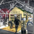 National stand of Latvia, exhibition FHC 2015 in China