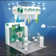 "Exhibition stand of ""Yuria Pharm"" сompany, exhibition ERS 2015 in Amsterdam"