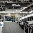 "Exhibition stand of ""Windy Scandinavia"" сompany, exhibition BOAT DUSSELDORF 2016 in Dusseldorf"