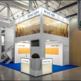 "Exhibition stand of ""Linas Agro"" company, exhibition PAVASARIS 2016 in Riga"