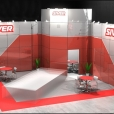 "Exhibition stand of ""Siver"" company, exhibition AUTOMECHANIKA 2010 in Frankfurt"