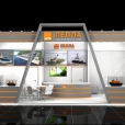 "Exhibition stand of ""PELLA Shipyard"", exhibition ARMY 2016 in Moscow"