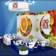 "Exhibition stand of ""Globus Group"" company, exhibition WORLD FOOD MOSCOW 2016 in Moscow"