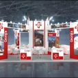 Exhibition stand of Georgia, exhibition TT WARSAW 2016 in Warsaw