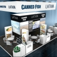 "Exhibition stand of ""The Union of Fish Processing Industry"", exhibition FHC 2016 in Shanghai"