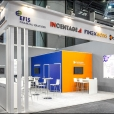 "Exhibition stand of ""Syracom"" company, exhibition SIBOS 2016 in Geneva"