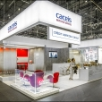 "Exhibition stand of ""Caceis"" company, exhibition SIBOS 2016 in Geneva"
