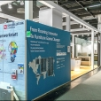 "Exhibition stand of ""Valinge"" company, exhibition INTERZUM 2017 in Cologne"