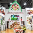 Exhibition stand of Republic of Tatarstan, NATIONAL FOOD SECURITY FORUM 2017 in Rostov-na-Donu